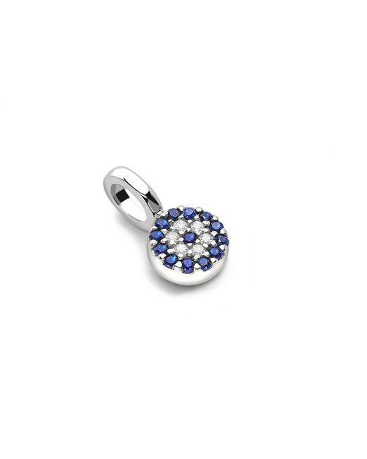 Missoma - Blue Silver Talisman Pendant - Lyst
