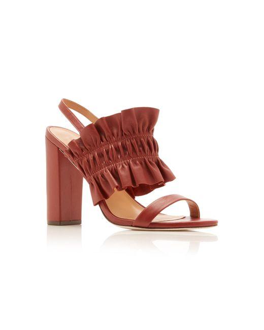 47ef4e5dd0a8 ... Ulla Johnson - Multicolor Libby Ruffle Sandals - Lyst ...