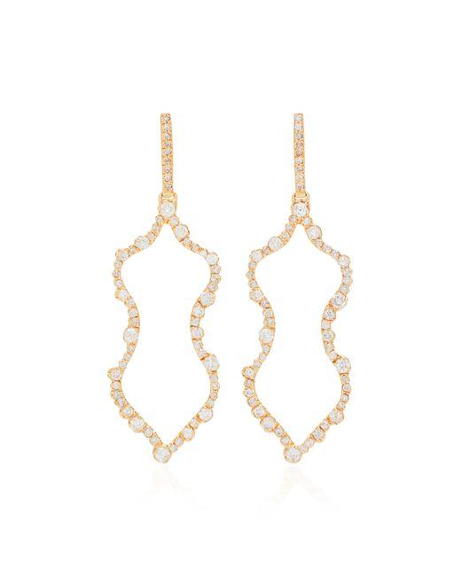 Kimberly Mcdonald - Metallic 18k Rose Gold Diamond Earrings - Lyst