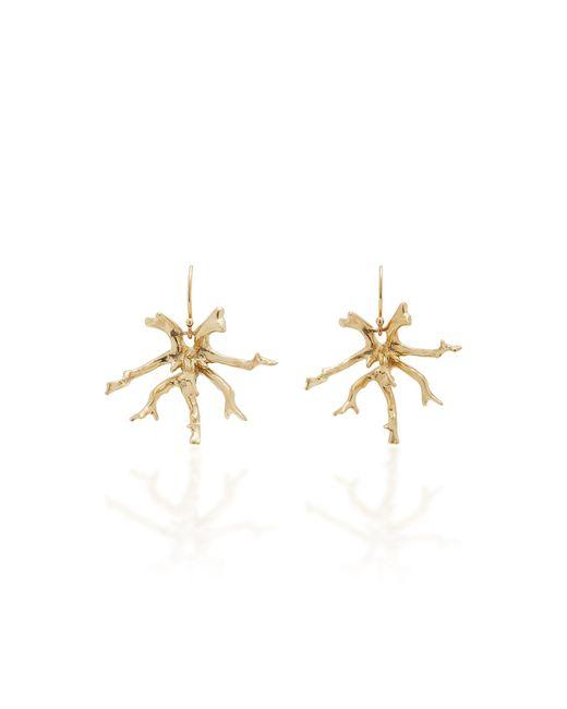 Annette Ferdinandsen - Metallic Coral Stick Cluster 14k Gold Earrings - Lyst