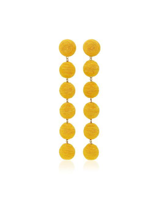 Rebecca de Ravenel   Yellow Six Drop Skinny Earrings   Lyst