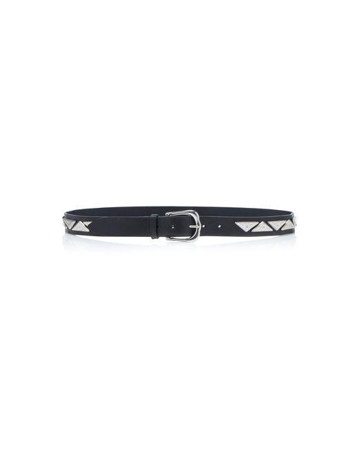 Isabel Marant - Black Nyzo Studded Leather Waist Belt - Lyst