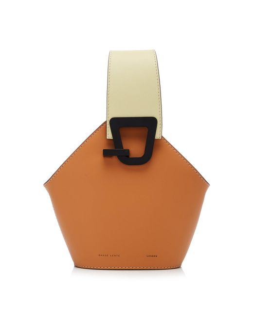 Danse Lente - Brown Mini Johnny Leather Bag - Lyst