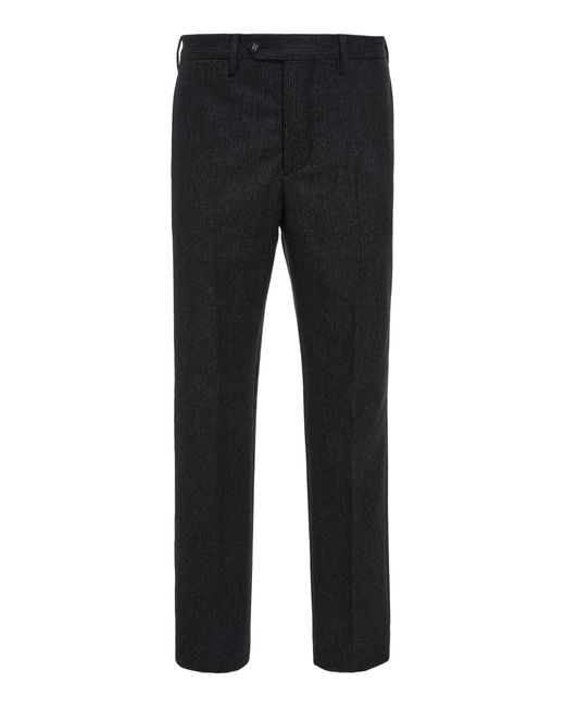 Officine Generale - Gray Classic Pinstripe Flannel Trousers for Men - Lyst
