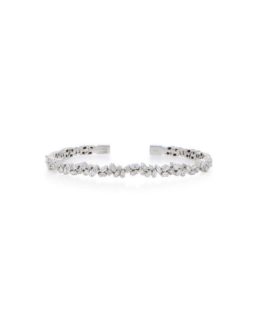 Suzanne Kalan - 18k White Gold Diamond Bracelet - Lyst