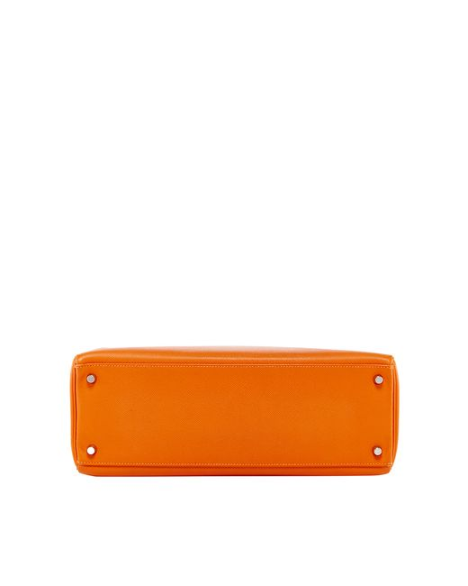Heritage auctions special collection Hermes 35cm Orange H Epsom ...