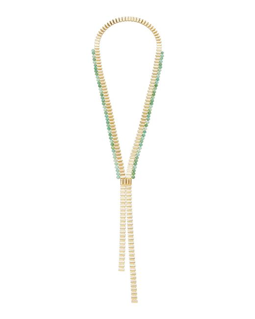 Rosantica - Metallic Casta Gold-tone Brass And Quartz Necklace - Lyst