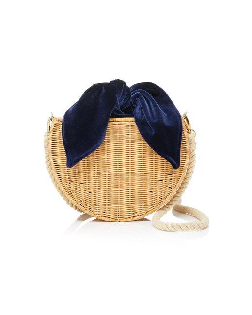 Kayu - Blue Dylan Straw Shoulder Bag - Lyst