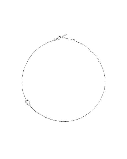 Jack Vartanian - Gray 18k White Gold And Black Rhodium Llb Diamond Drop Choker - Lyst