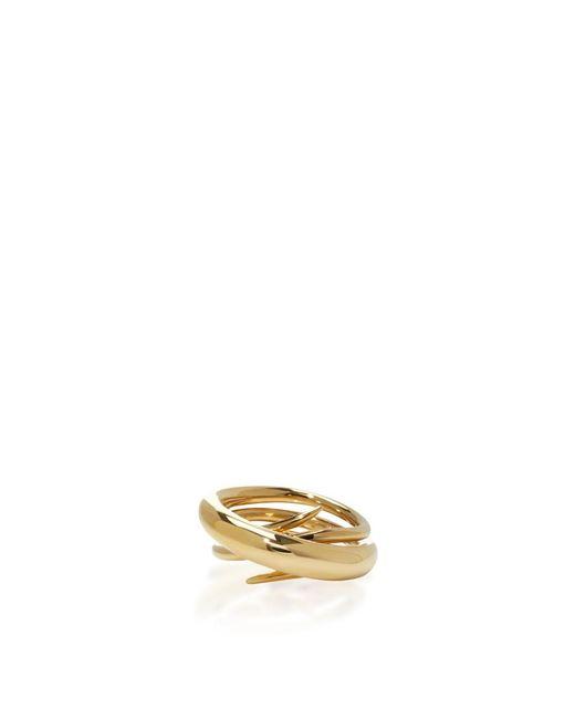 Charlotte Chesnais | Metallic Gold Hurly Burly Ring | Lyst