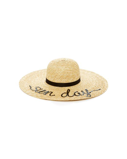 Eugenia Kim - Multicolor Bunny Sun Day Straw Sunhat - Lyst