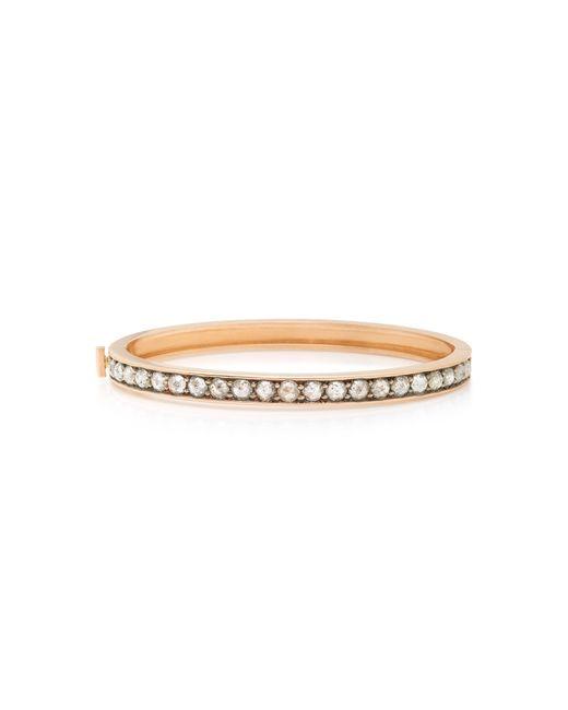 Sylva & Cie - Metallic 14k Rose-gold Diamond Bracelet - Lyst