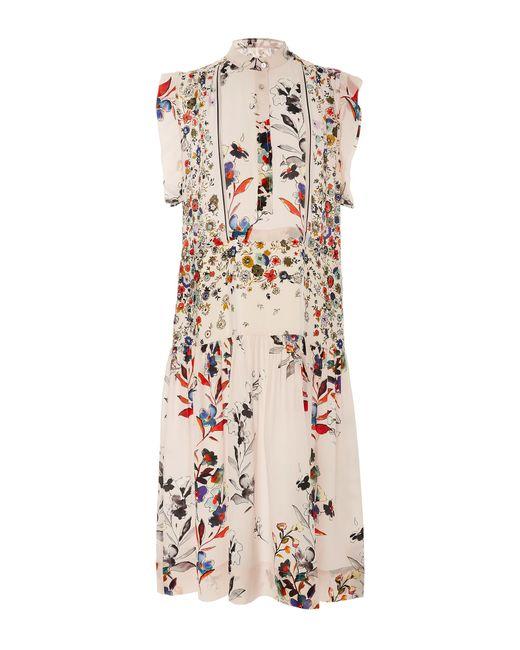 Warm | Multicolor Roque Ruffle Cap Sleeve Dress | Lyst