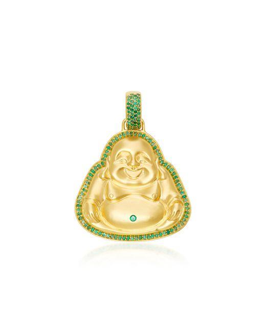 Buddha Mama | Green Large Pendant With Gemfields Emeralds | Lyst