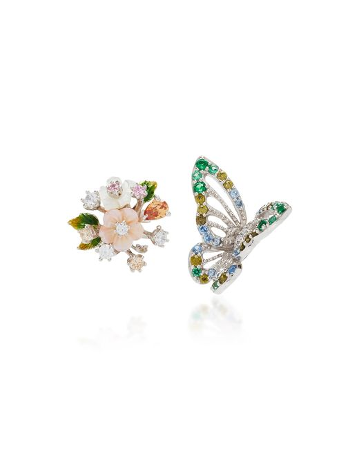 Anabela Chan | Multicolor M'o Exclusive: Butterfly Bouquet Studs | Lyst