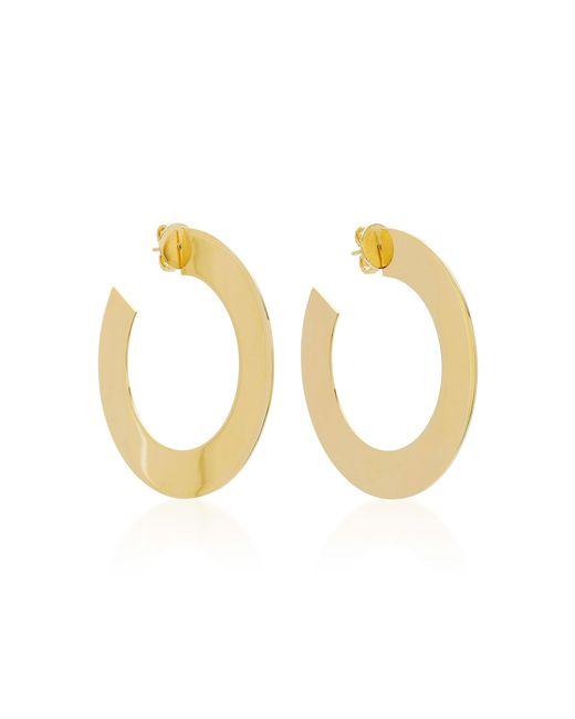 Jack Vartanian | Metallic Riviera Side Hoop Earrings | Lyst