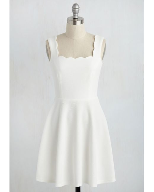 Alythea | White Posh And Circumstance Dress | Lyst