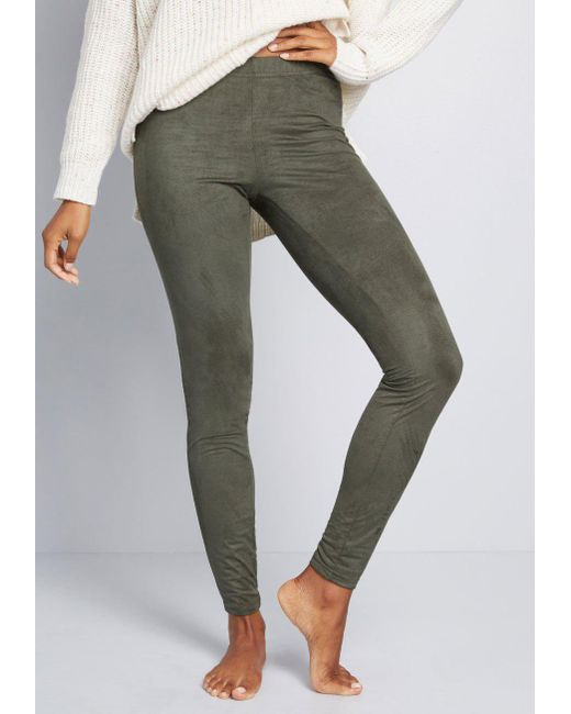 ModCloth - Green More Than A Feeling Leggings - Lyst