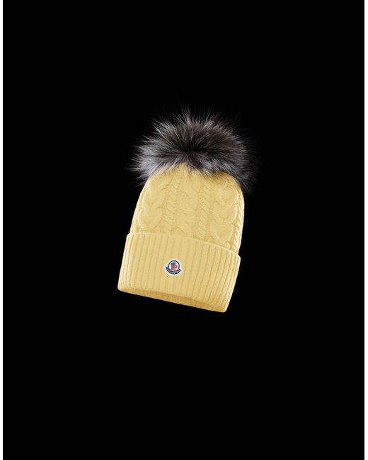 1a4c18b60a3 Moncler - Multicolor Hat - Lyst ...