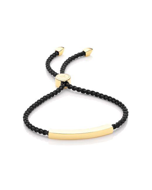 Monica Vinader - Metallic Linear Friendship Bracelet - Lyst