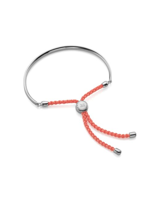 Monica Vinader - Metallic Havana Sterling Silver Friendship Bracelet - Lyst