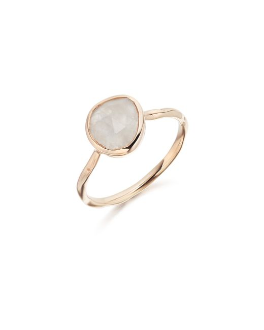 Monica Vinader | Pink Siren Stacking Ring | Lyst