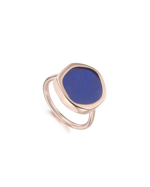 Monica Vinader | Blue Atlantis Gem Ring | Lyst