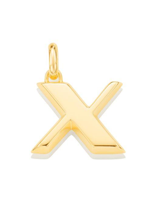 Monica Vinader - Metallic Alphabet X Pendant Charm - Lyst