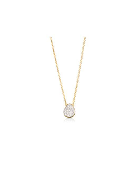 Monica Vinader | Metallic Ava Button Necklace | Lyst