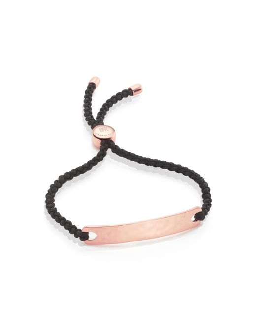 Monica Vinader | Black Havana Friendship Bracelet | Lyst