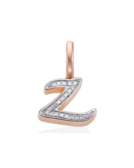 Monica Vinader | Pink Diamond Alphabet Pendant Z | Lyst