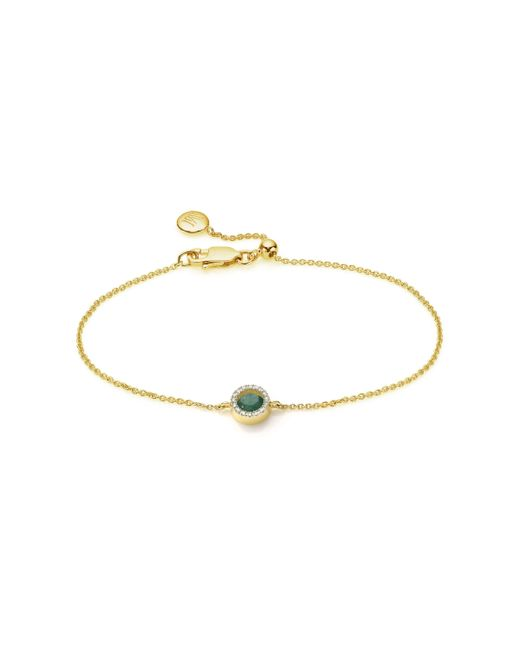 Monica Vinader | Metallic Naida Mini Circle Bracelet | Lyst