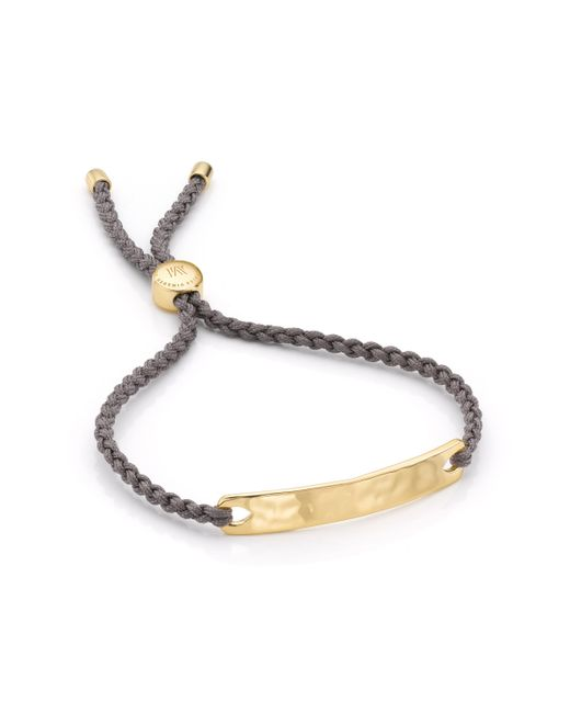Monica Vinader | Brown Havana Friendship Bracelet | Lyst