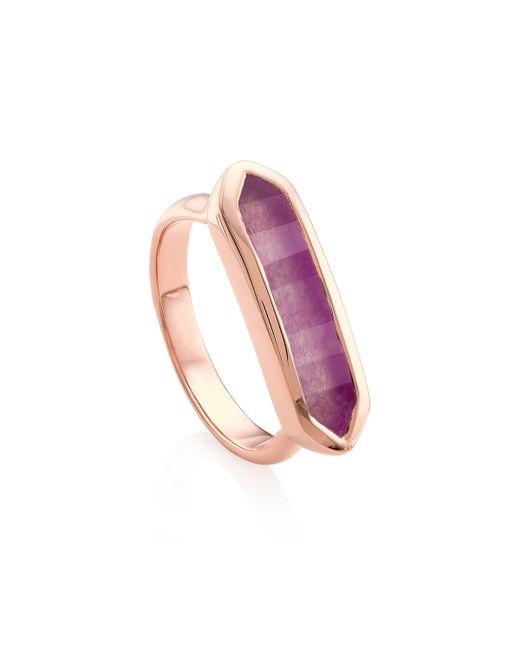 Monica Vinader - Purple Baja Ring - Lyst