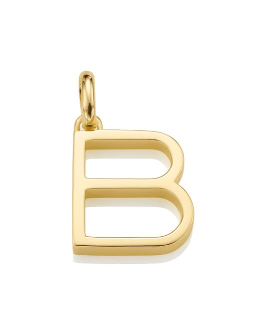 Monica Vinader   Metallic Alphabet Pendant B   Lyst