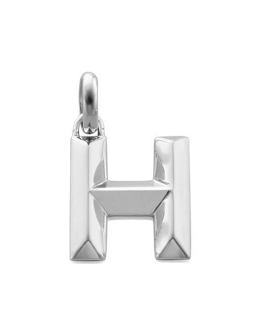 Monica Vinader | Metallic Alphabet Pendant H | Lyst