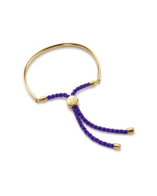 Monica Vinader | Metallic Fiji Friendship Petite Bracelet | Lyst
