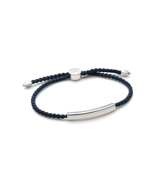 Monica Vinader | Metallic Havana Men's Friendship Bracelet for Men | Lyst