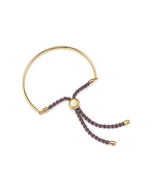 Monica Vinader   Metallic Fiji Friendship Petite Bracelet   Lyst