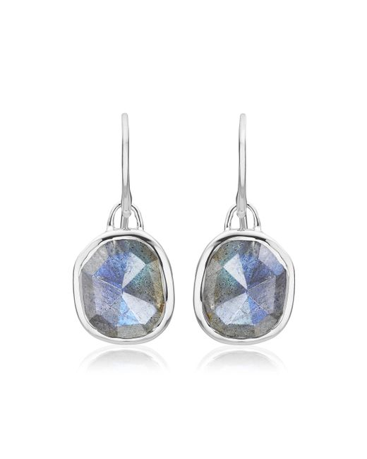 Monica Vinader - Multicolor Siren Wire Earrings - Lyst