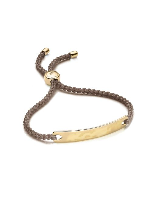 Monica Vinader - Brown Havana Friendship Bracelet - Lyst