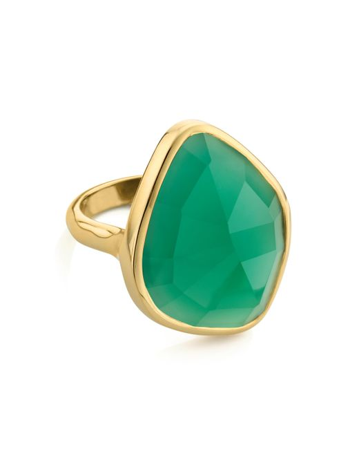 Monica Vinader - Metallic Siren Nugget Cocktail Ring - Lyst