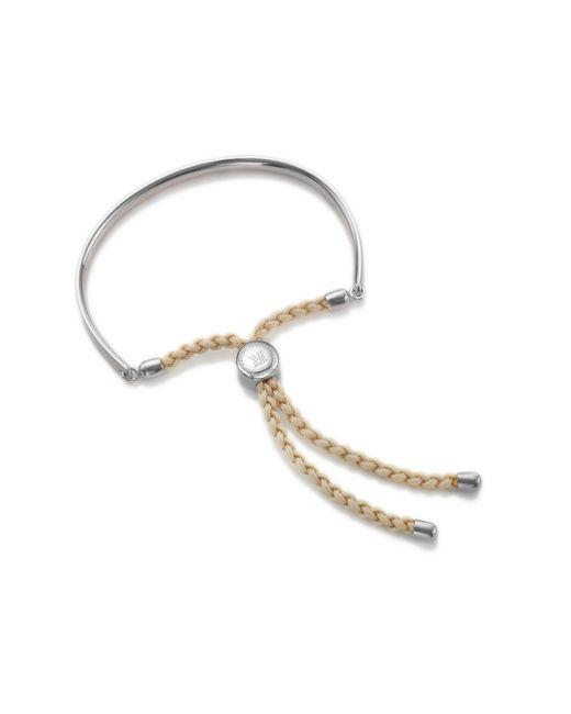 Monica Vinader - Natural Fiji Friendship Bracelet - Lyst