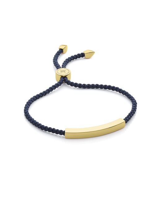 Monica Vinader | Blue Linear Bead Friendship Bracelet | Lyst