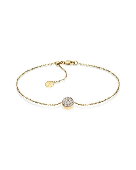 Monica Vinader | Metallic Ava Button Bracelet | Lyst