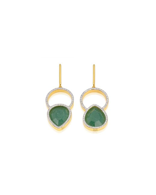 Monica Vinader | Metallic Naida Kiss Cocktail Earrings | Lyst
