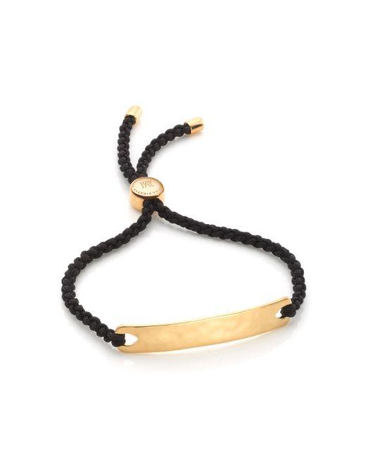 Monica Vinader | Black Havana Friendship Bracelet | Lyst