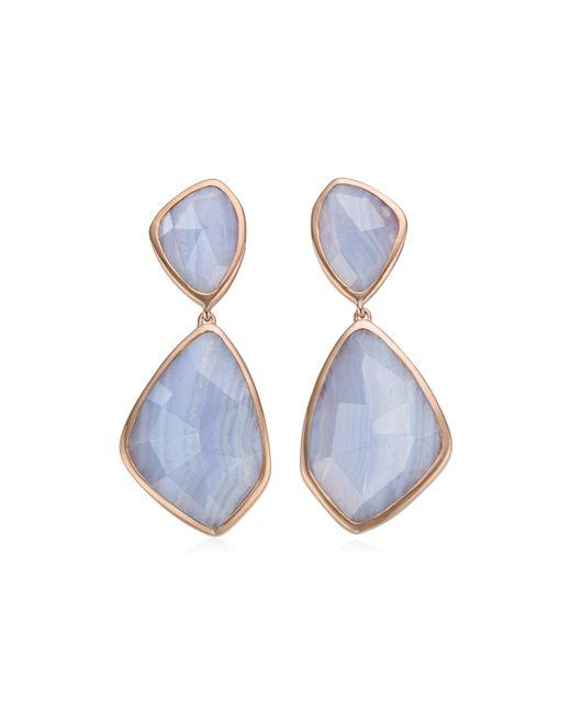 Monica Vinader   Blue Siren Cocktail Earrings   Lyst