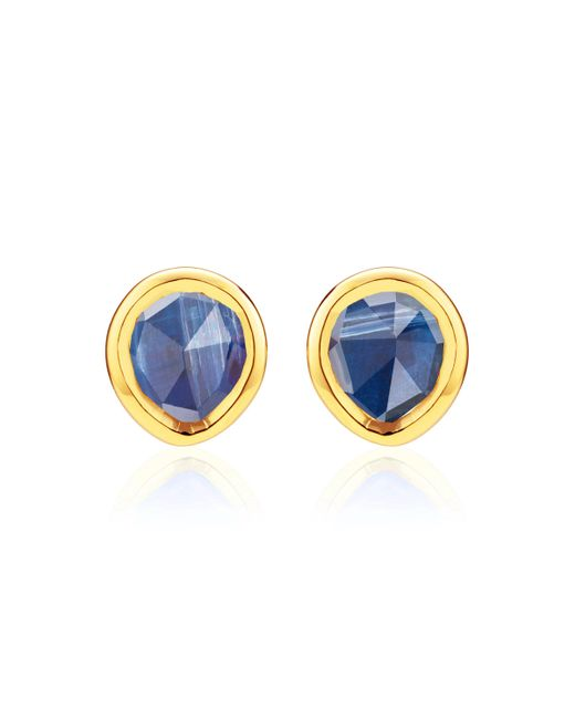 Monica Vinader - Multicolor Siren Mini Stud Earrings - Lyst