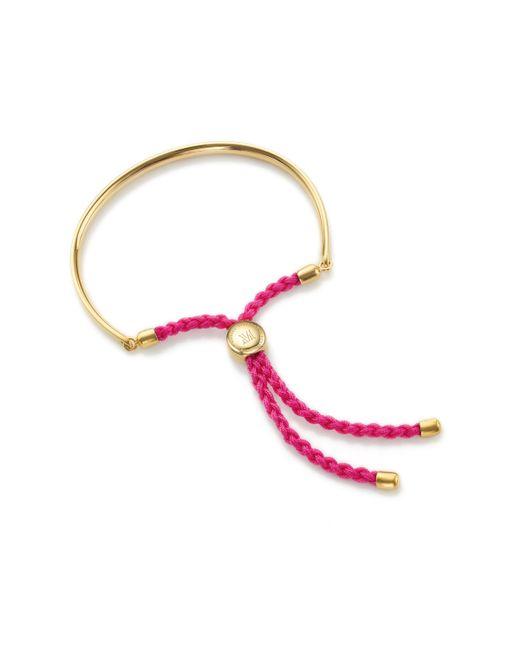 Monica Vinader - Metallic Fiji Friendship Bracelet - Lyst